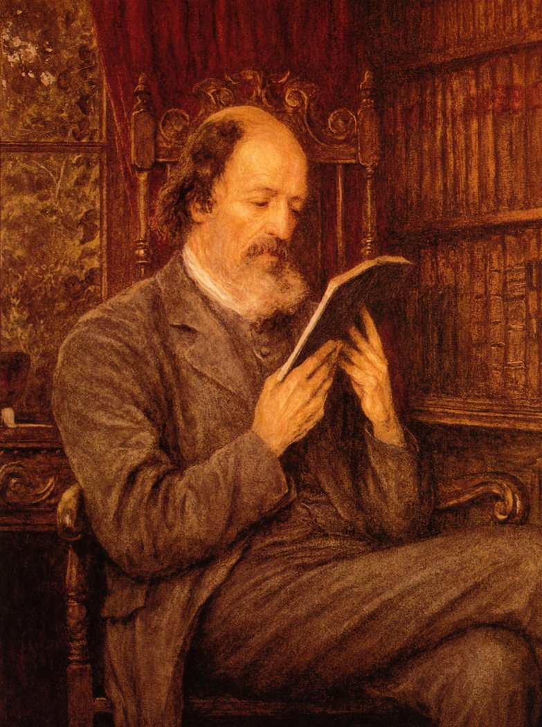 Alfred Lord Tennyson Date unknown | Helen Allingham | oil painting