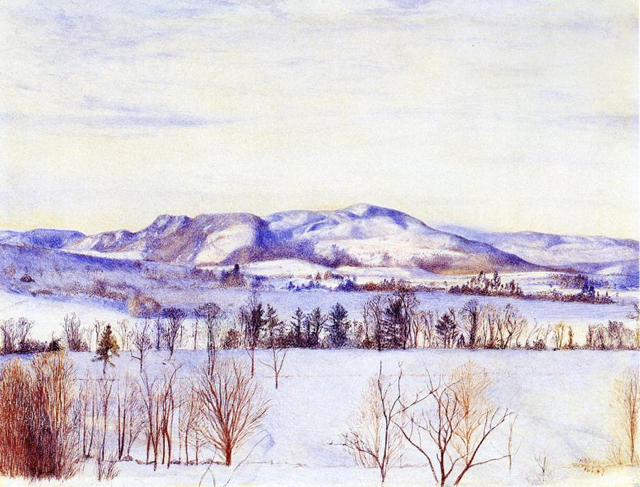 Monument Mountain 1867 | Henry Roderick Newman | oil painting