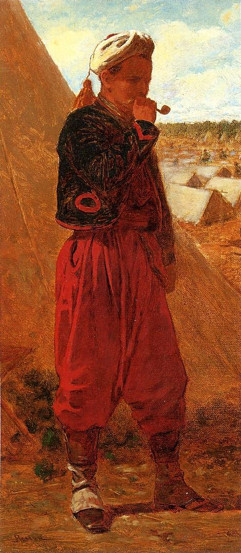 Zouave Jacob 1864 | Henry Roderick Newman | oil painting