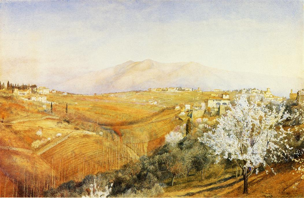 Tuscany 1886 | Henry Roderick Newman | oil painting