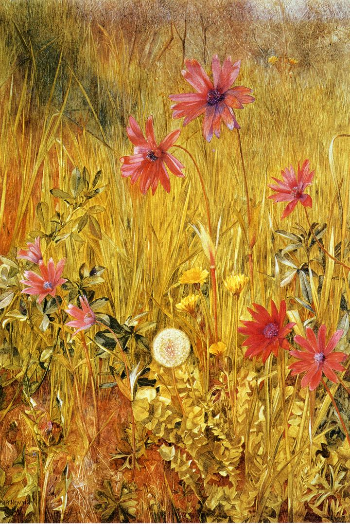 Wildflowers 1887 | Henry Roderick Newman | oil painting