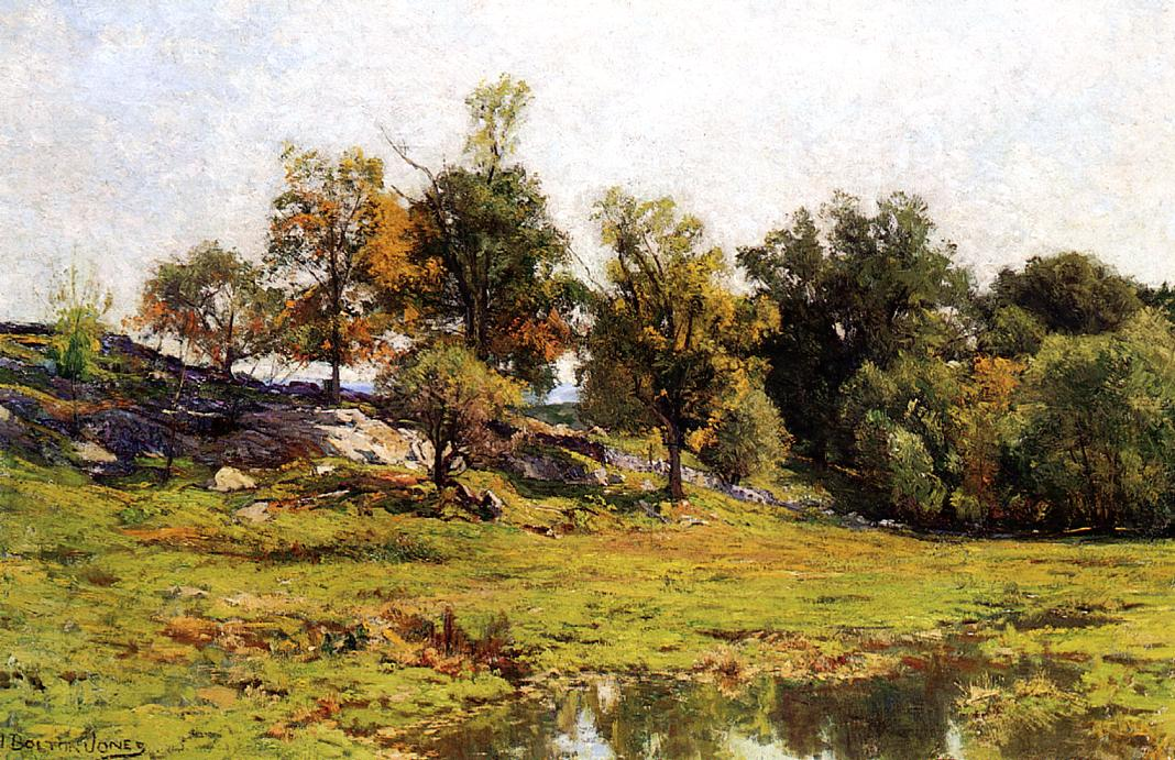 Summer Landscape | Hugh Bolton James | oil painting