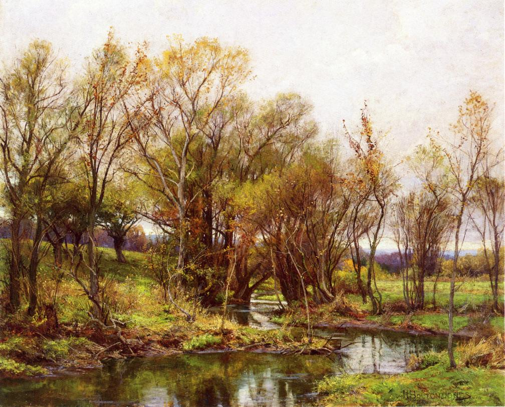 The Brook Morning | Hugh Bolton James | oil painting