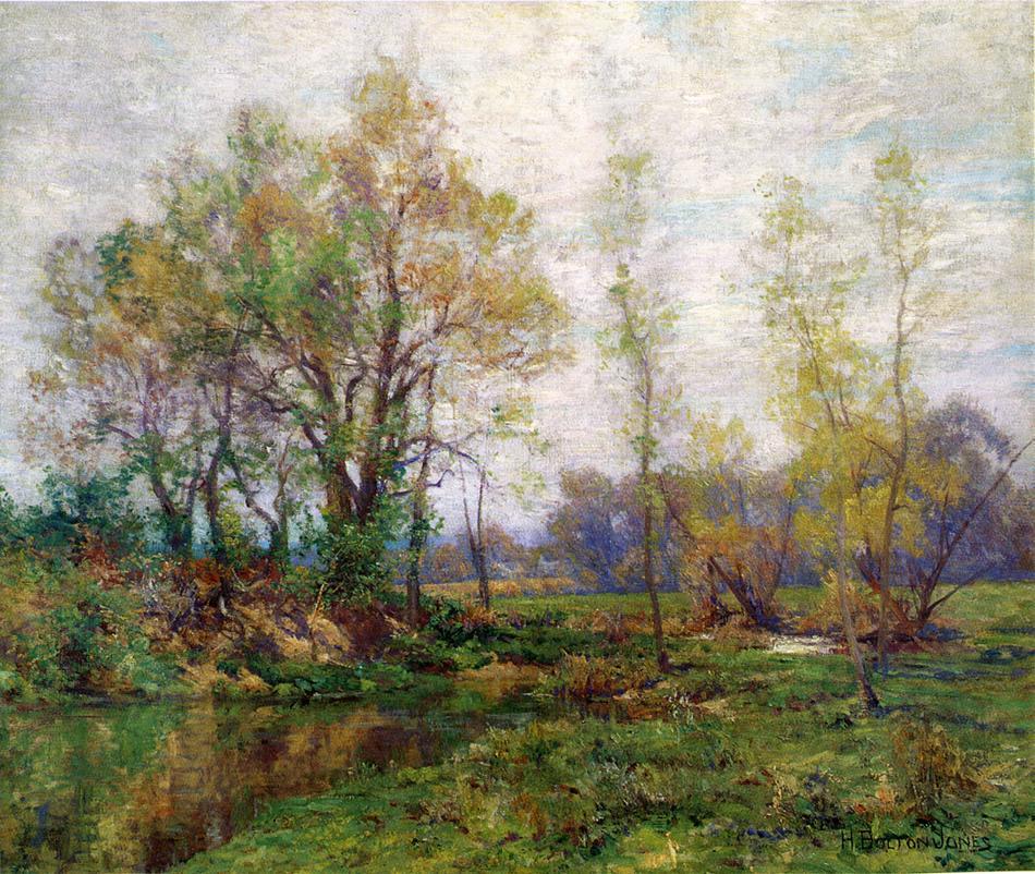 Springtime | Hugh Bolton James | oil painting