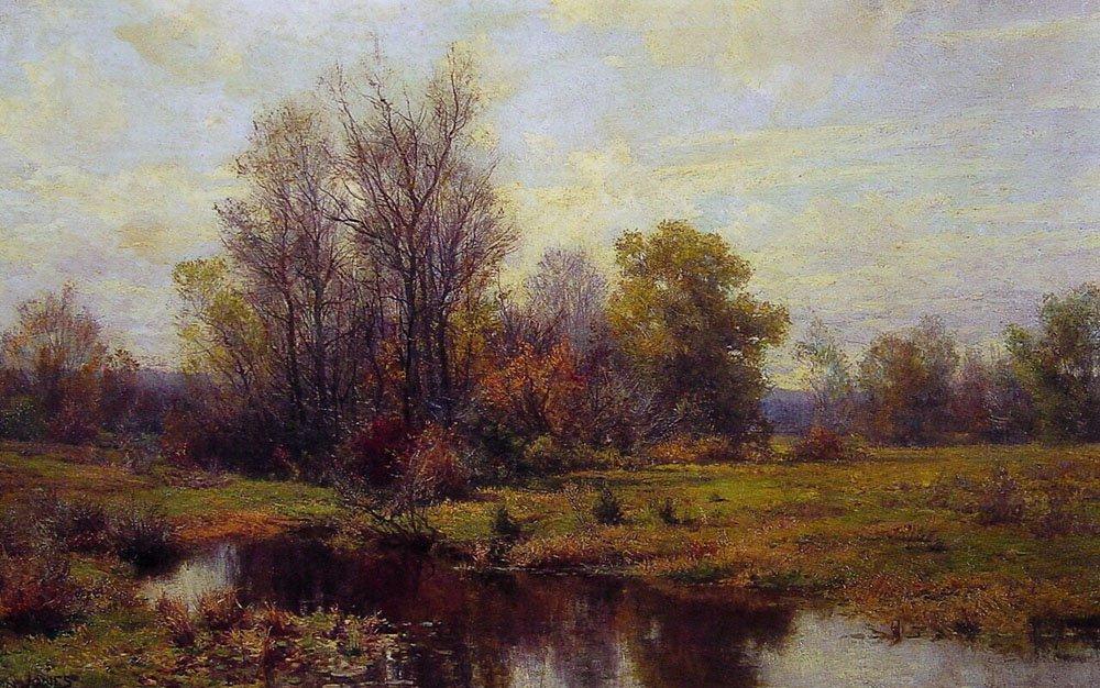 Woodland Scene | Hugh Bolton James | oil painting