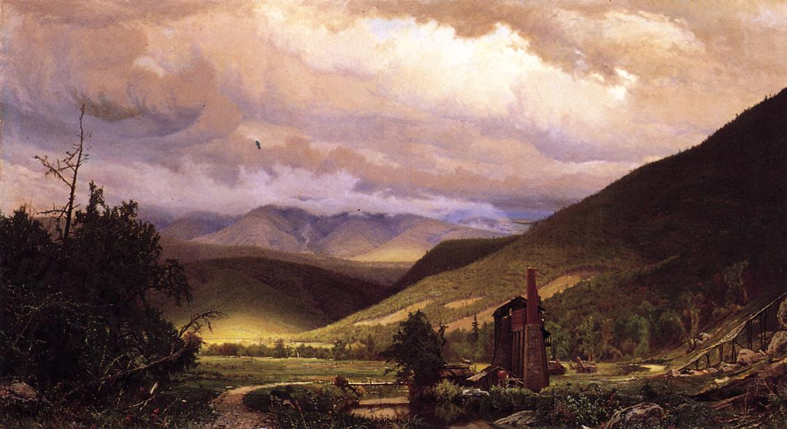 Old Smelter | Hugh Bolton James | oil painting