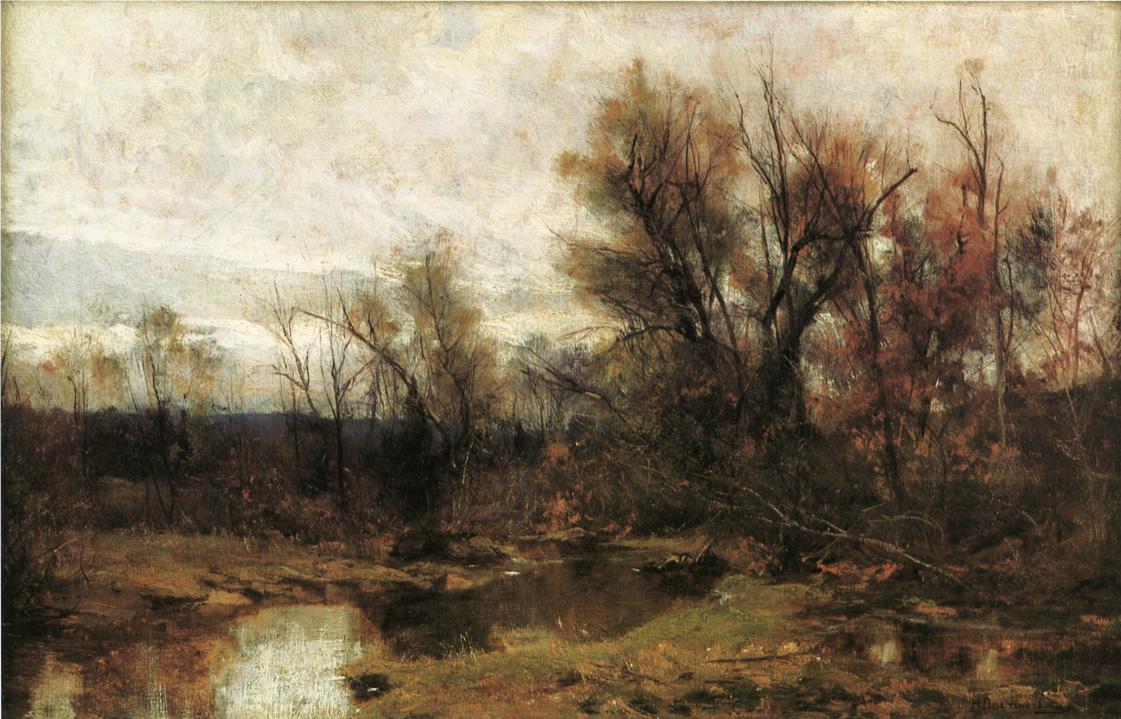 Winter Landscape Date unknown | Hugh Bolton Jones | oil painting