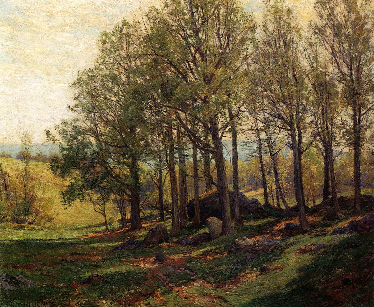 Maples in Spring Date unknown | Hugh Bolton Jones | oil painting