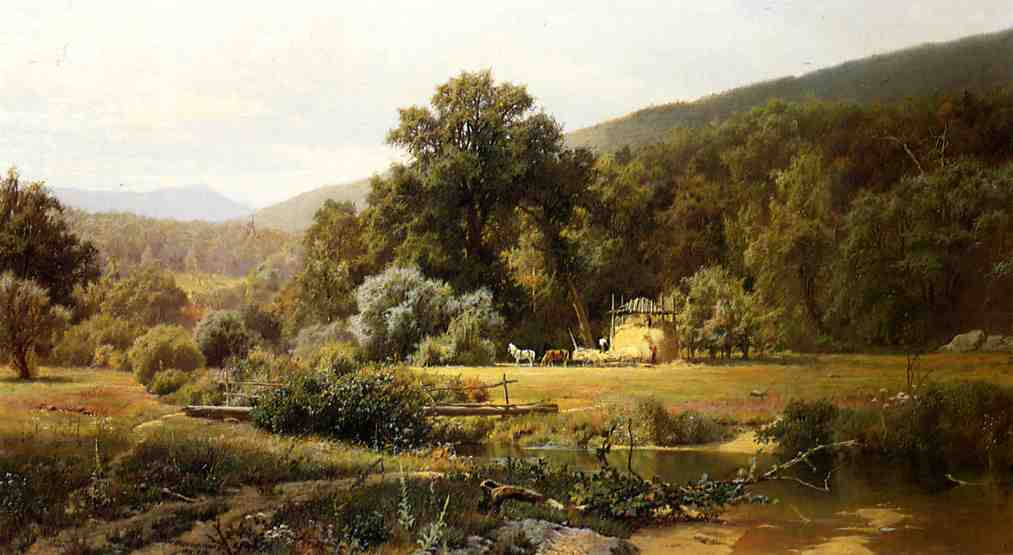 Summer in the Blue Ridge 1874 | Hugh Bolton Jones | oil painting
