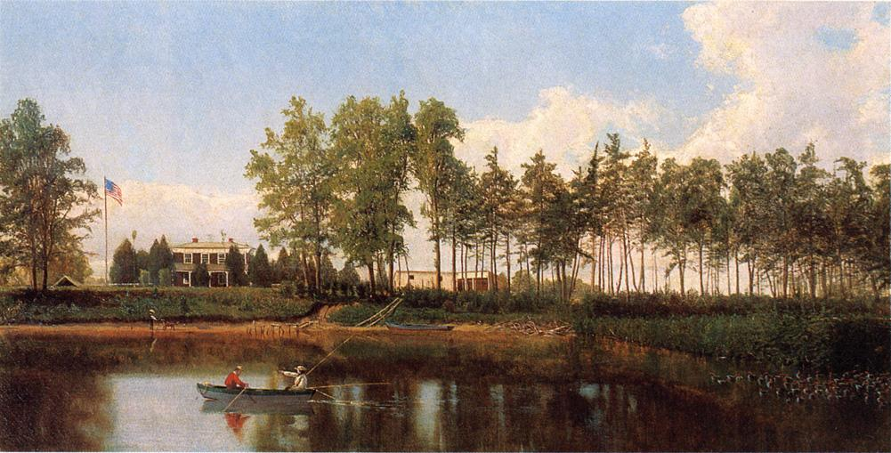 Charles River Maryland Date unknown | Hugh Bolton Jones | oil painting