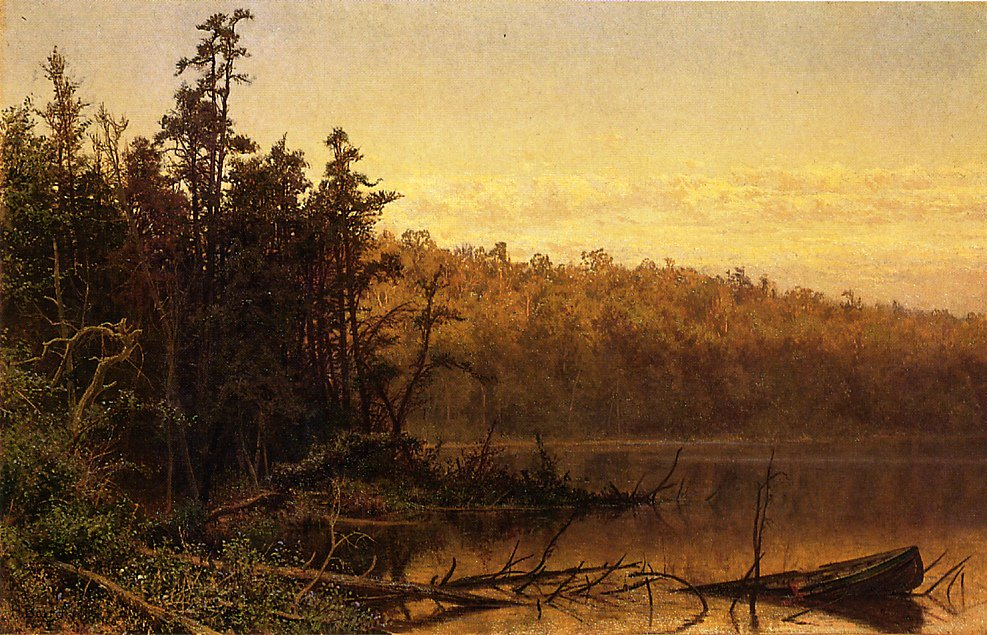 Evening on the Severn 1874 | Hugh Bolton Jones | oil painting