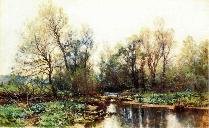 A Clear Stream Date unknown | Hugh Bolton Jones | oil painting