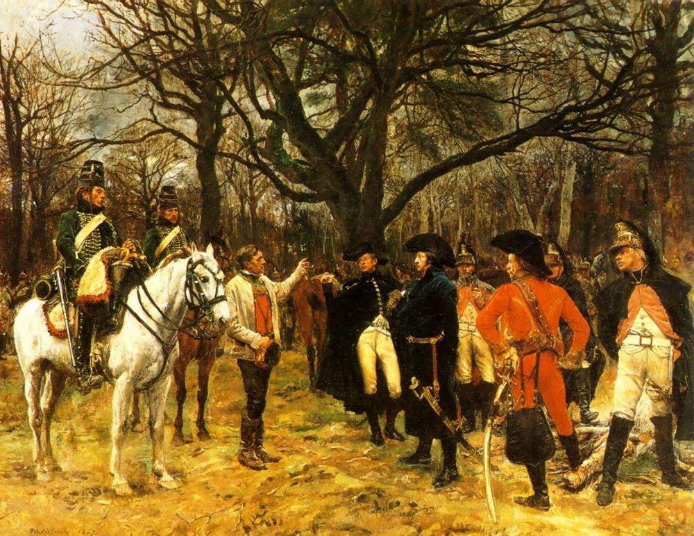 General Desaix and the Peasant | Jean Louis Ernest Meissonier | oil painting