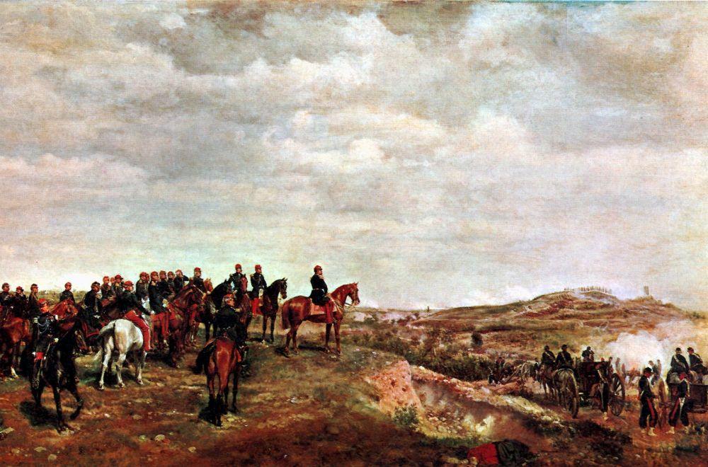Campaign | Jean Louis Ernest Meissonier | oil painting