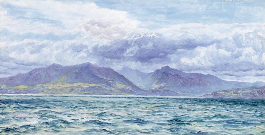 Arran | John Brett | oil painting