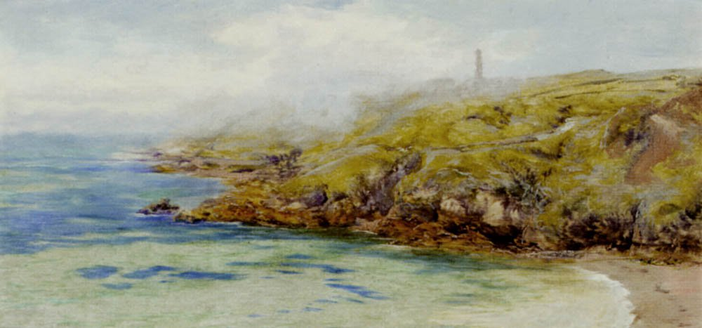 Fermain Bay Guernsey | John Brett | oil painting
