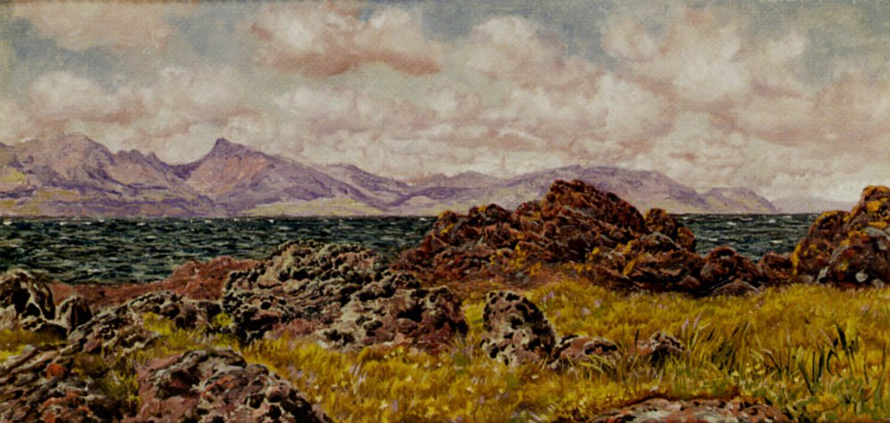 Farland Rocks | John Brett | oil painting