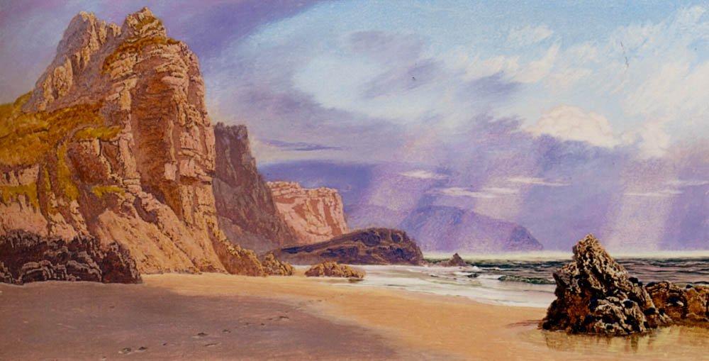 Mewslade | John Brett | oil painting