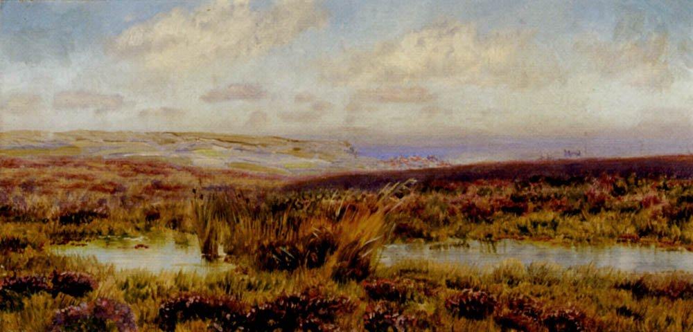 Sketch of Fylingdales Moor | John Brett | oil painting