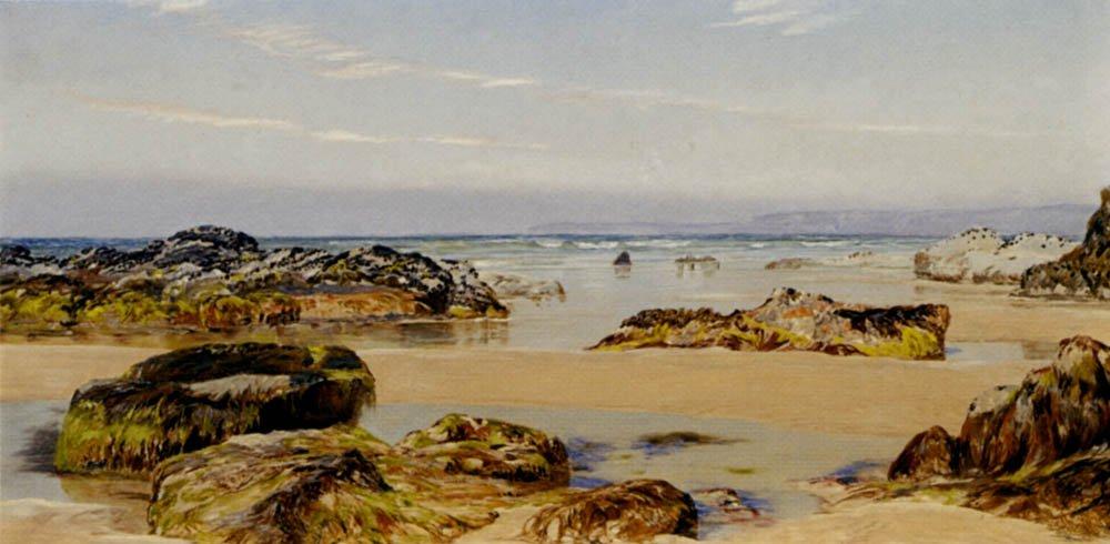 Spring Tide   John Brett   oil painting