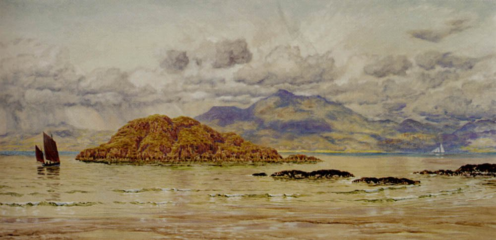 Maiden Island | John Brett | oil painting