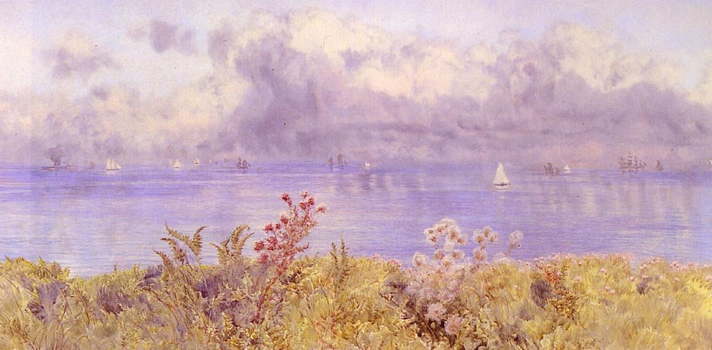 Bristol Channel From The Welsh Coast | John Brett | oil painting