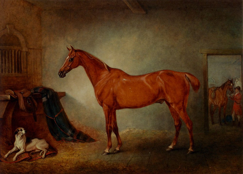 Firebird And Policy | John Ferneley Snr | oil painting