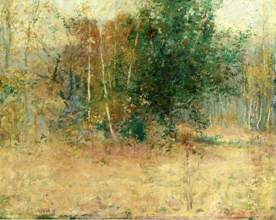 Study for Indian Summer 1892 | John Leslie Breck | oil painting