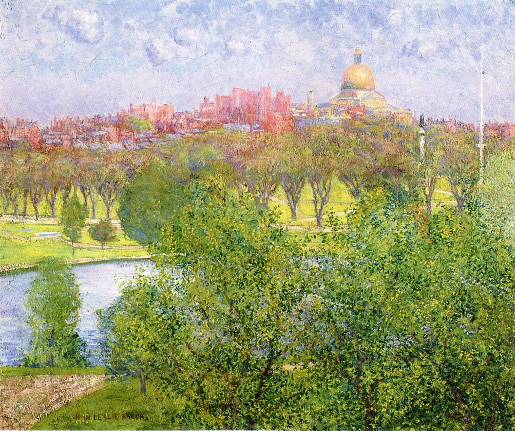 The Gilded Dome Spring 1893 1894 | John Leslie Breck | oil painting