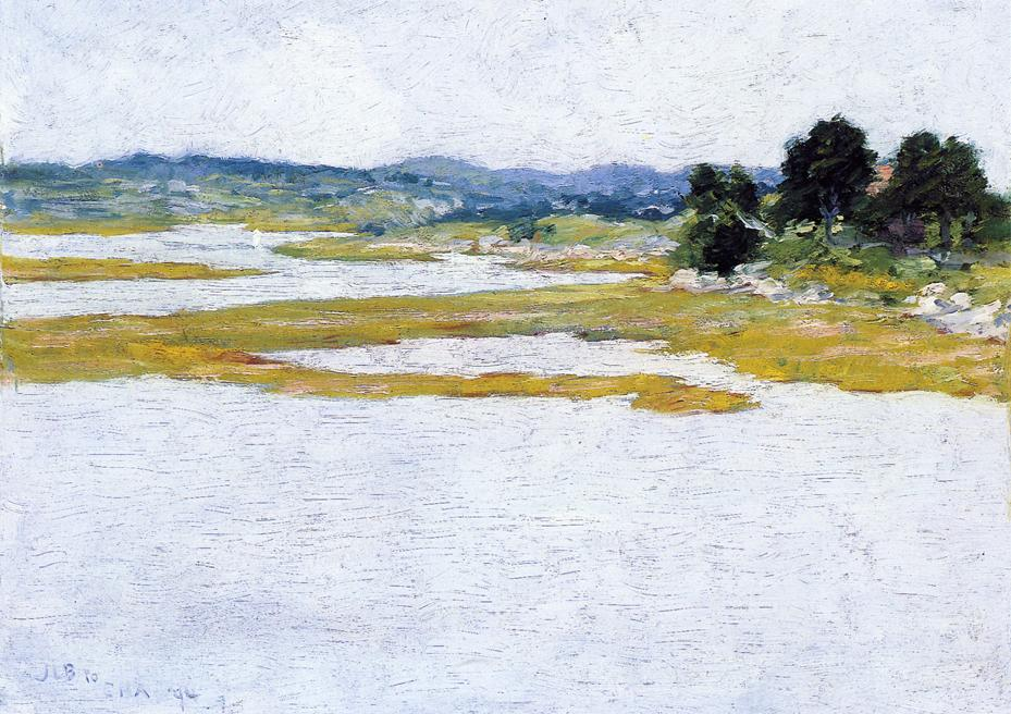 Wetlands 1894 | John Leslie Breck | oil painting