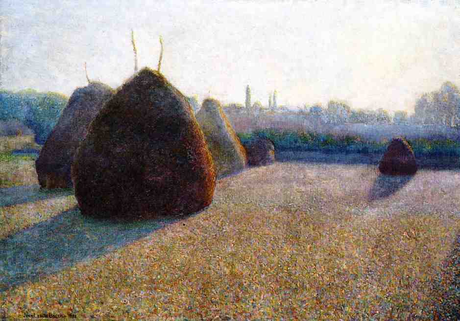 Morning Fog and Sun 1892 | John Leslie Breck | oil painting