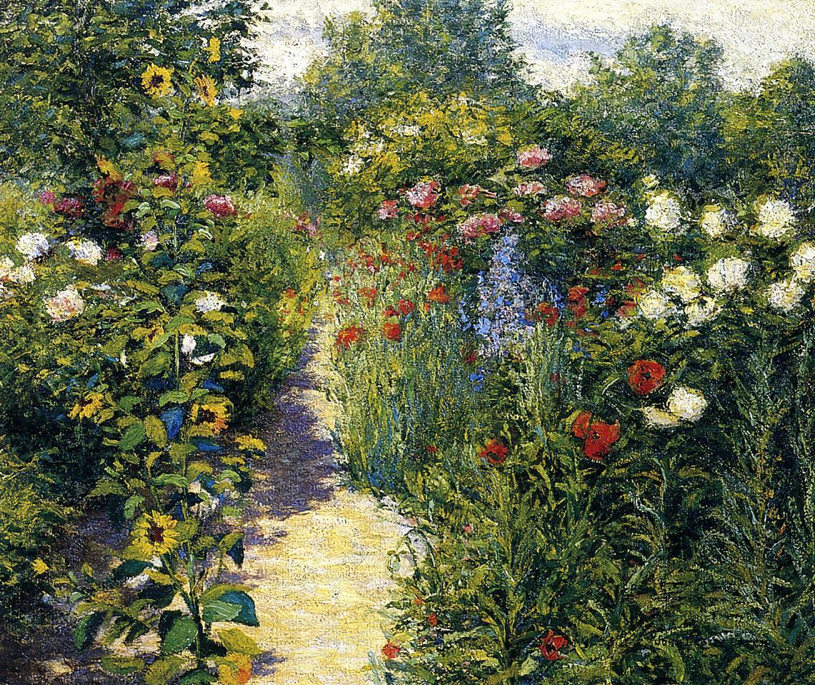 Field of Poppies 1889 | John Leslie Breck | oil painting