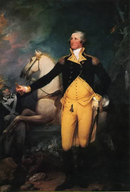 George Washington before the Battle of Trenton 1792 | John Trumbull | oil painting