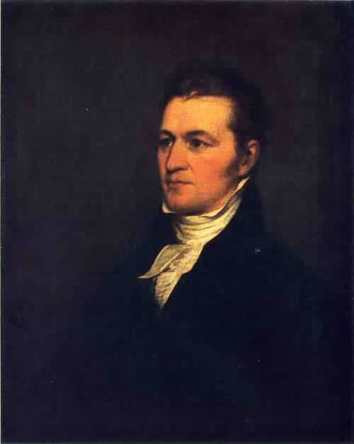 Samuel Miles Hopkins 1805 | John Trumbull | oil painting