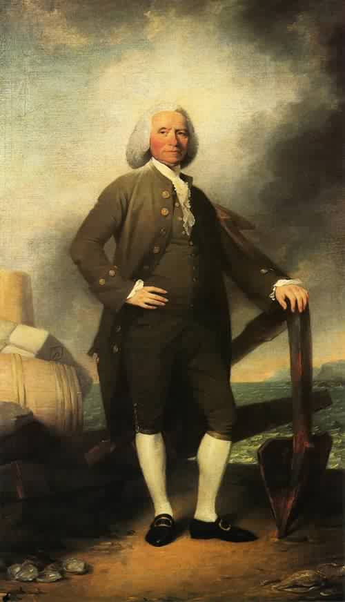 Patrick Tracy 1784 1786 | John Trumbull | oil painting