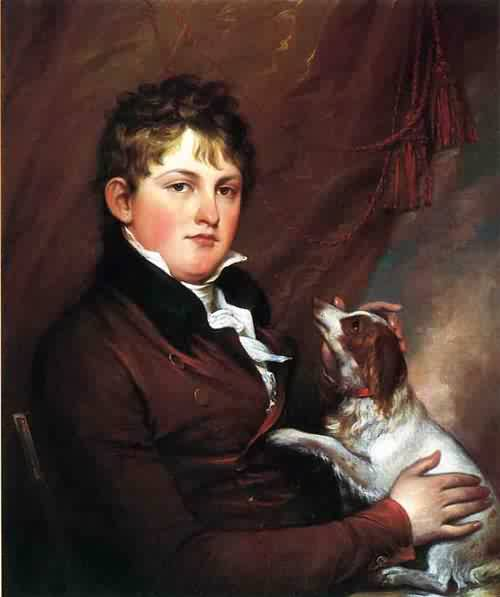 Portrait of John M. Trumbull the Artist's Nephew 1800 1802 | John Trumbull | oil painting