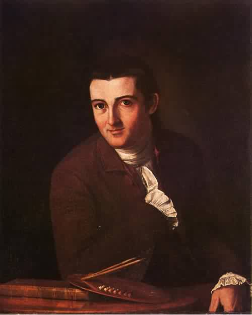 Self Portrait 1777 | John Trumbull | oil painting