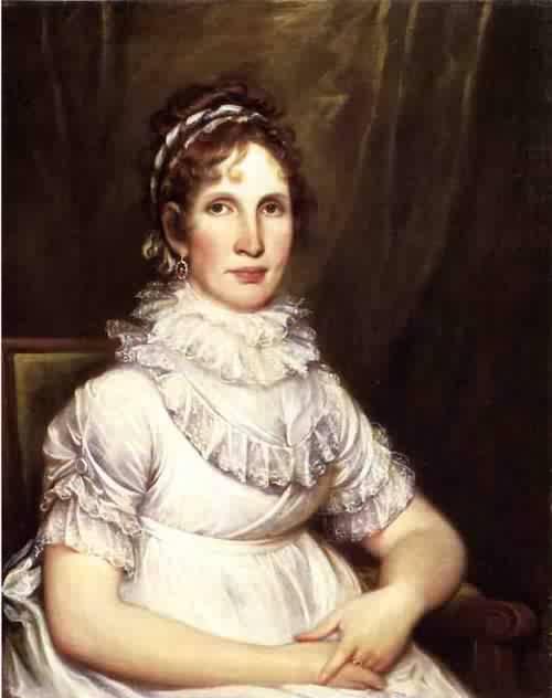 Portrait of Mrs. Isaac Bronson nee Anna Olcott 1805 | John Trumbull | oil painting