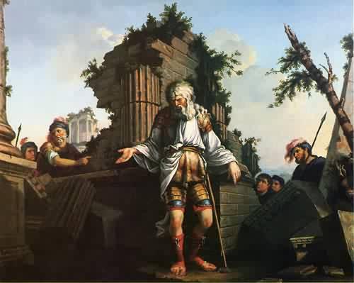 Belesarius 1778 1779 | John Trumbull | oil painting