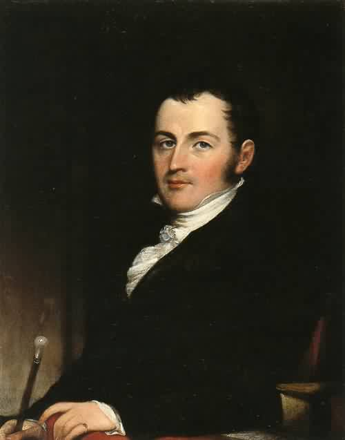 George Gallagher New Yor 1826 | John Trumbull | oil painting