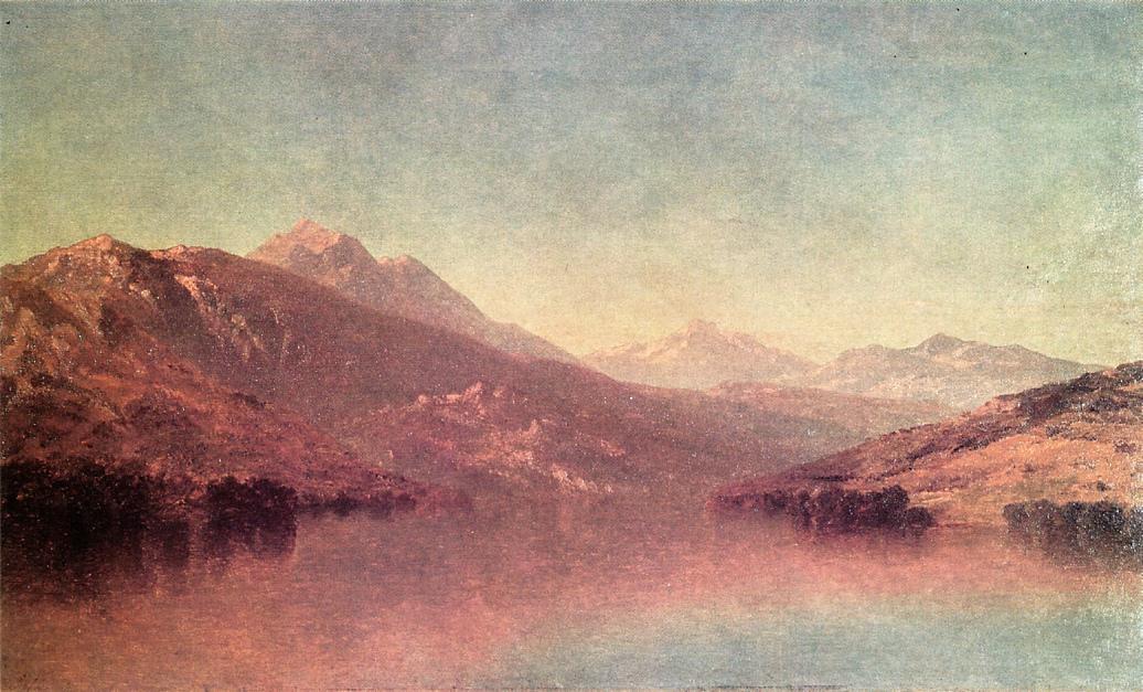 Rocky Mountain Landscape 1875 | John W. Casilear | oil painting
