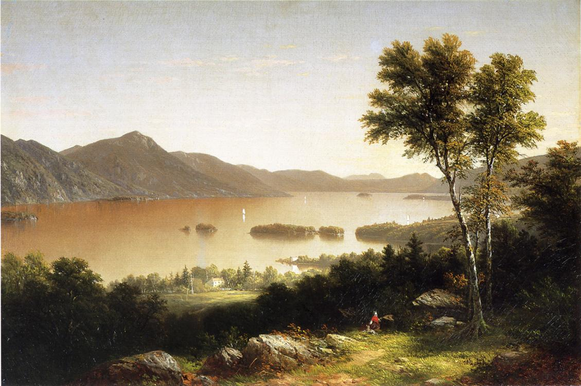 Lake George 1857 | John W. Casilear | oil painting