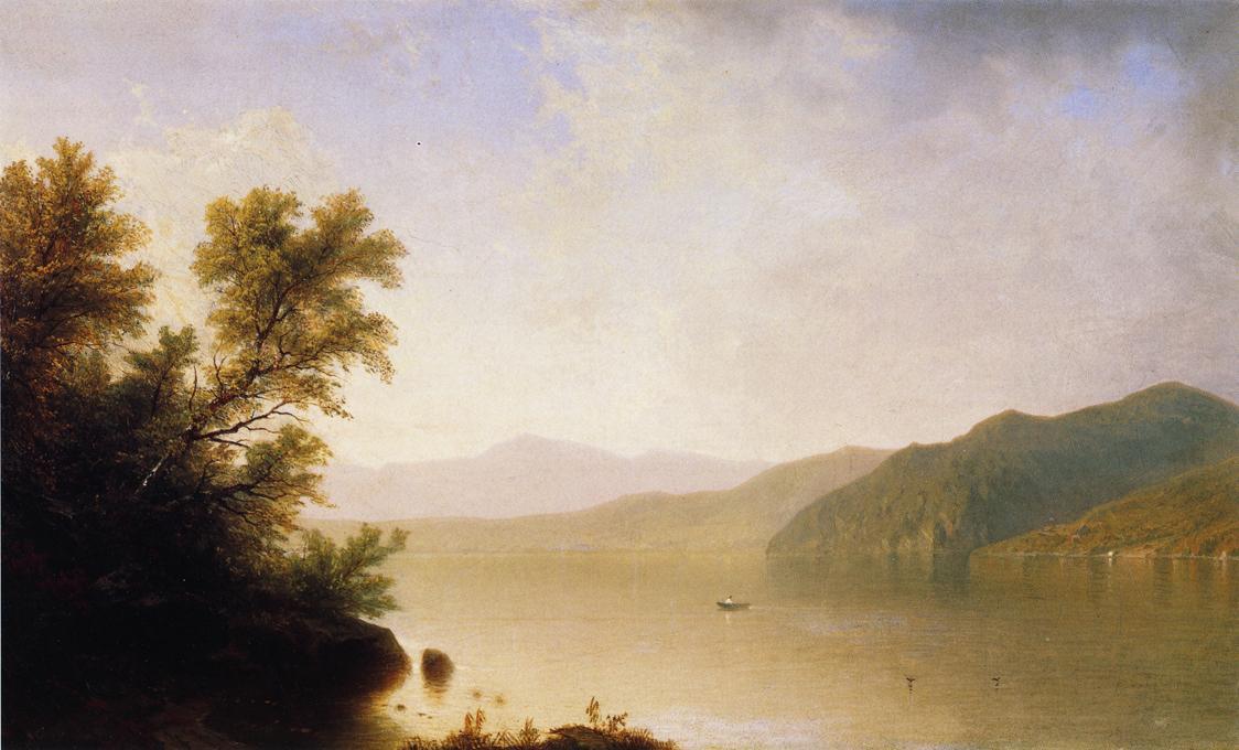 Lake George 1865 | John W. Casilear | oil painting