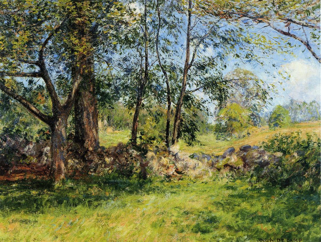 Summer Landscape aka Summertime 1893 1897 | Joseph deCamp | oil painting