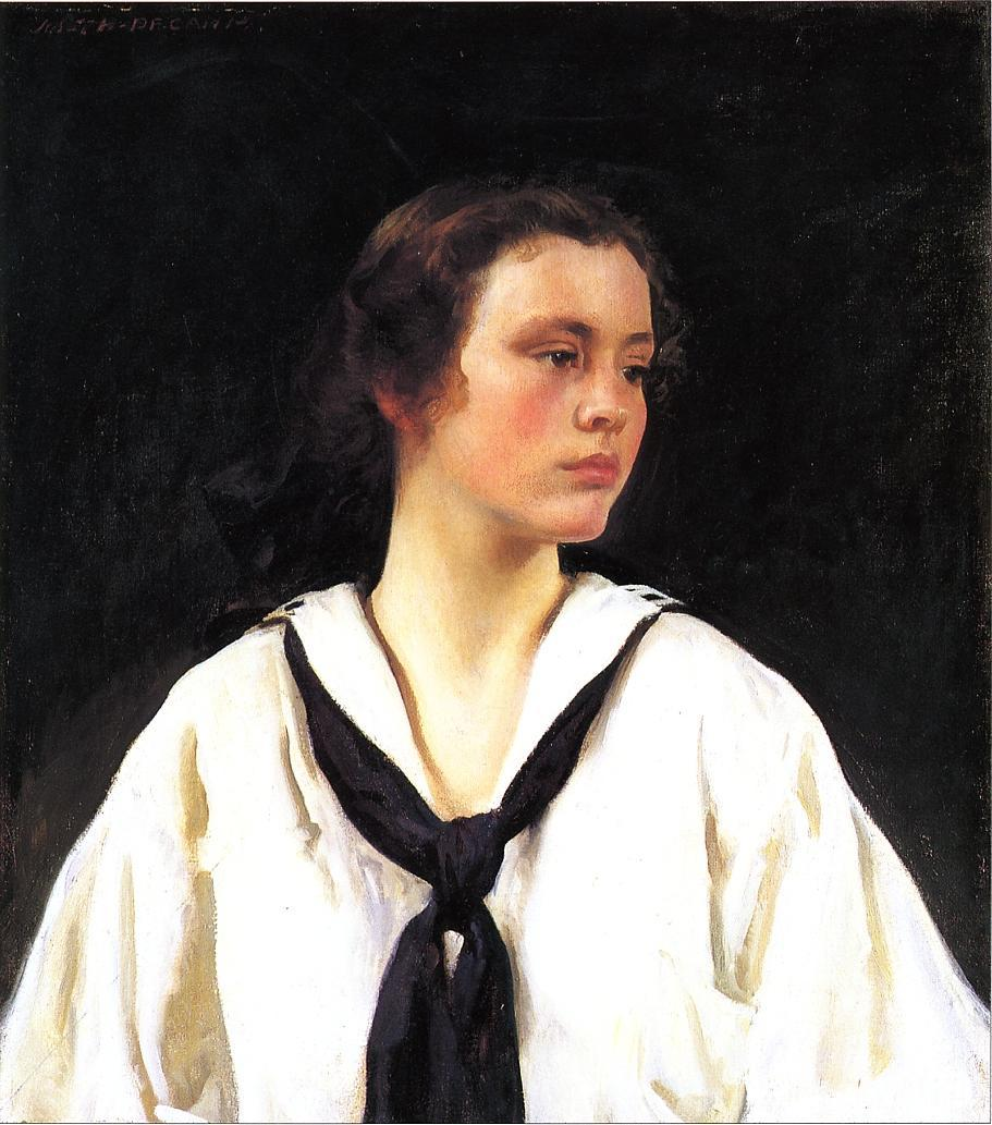 Sally 1907 | Joseph deCamp | oil painting