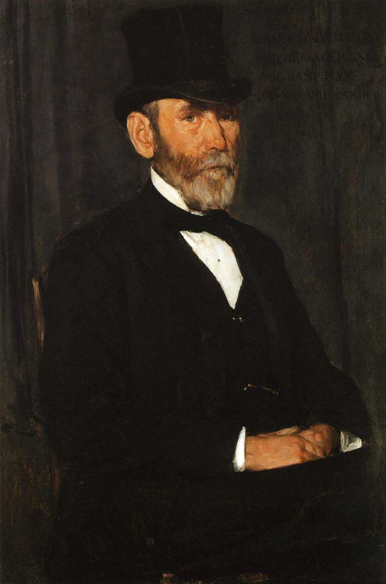 Lambert DeCamp 1883 | Joseph deCamp | oil painting