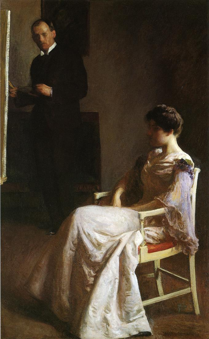 In the Studio 1890 1895 | Joseph deCamp | oil painting