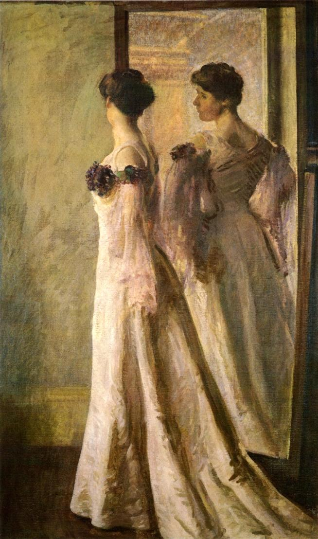 The Heliotrope Gown 1905 | Joseph deCamp | oil painting