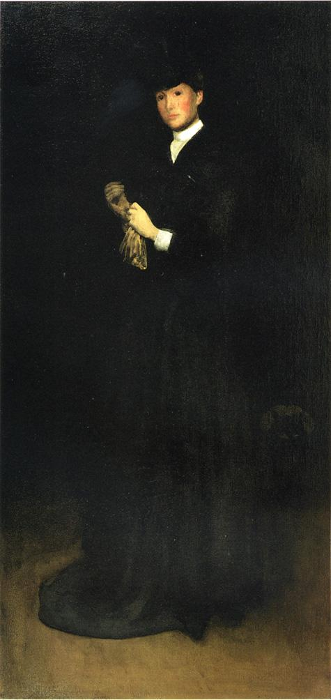 Arrangement in Black No 8 Portrait of Mrs Cassatt 1883 1885 | Joseph deCamp | oil painting