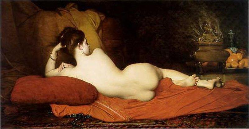 Odalisque | Jules Joseph Lefebvre | oil painting